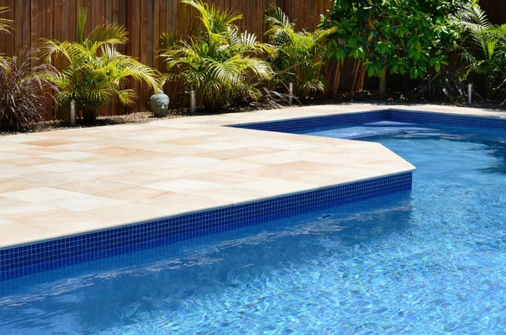 Avatar Exteriors Swimming Pool Tile and coping