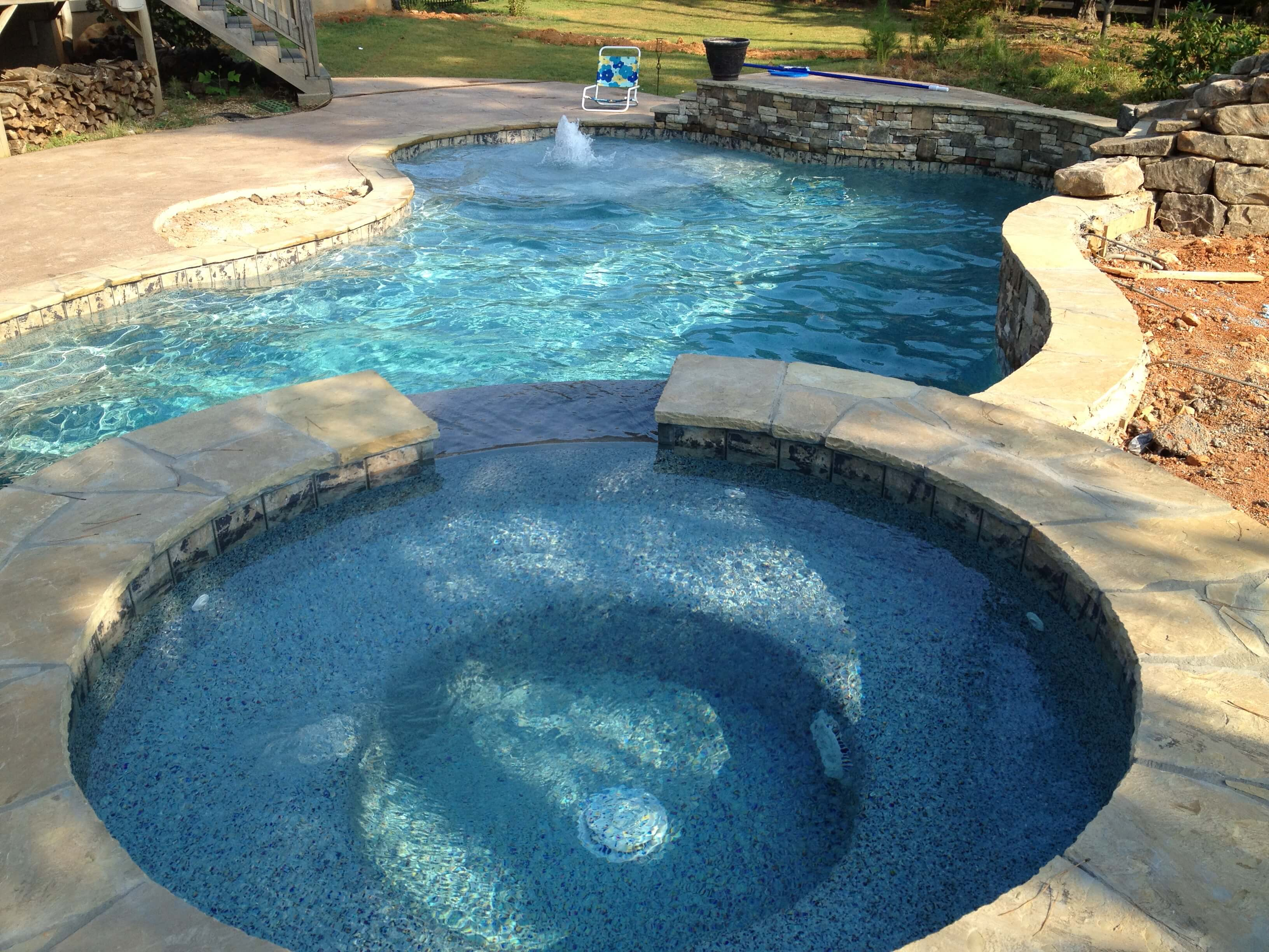 swimming pool plaster milton